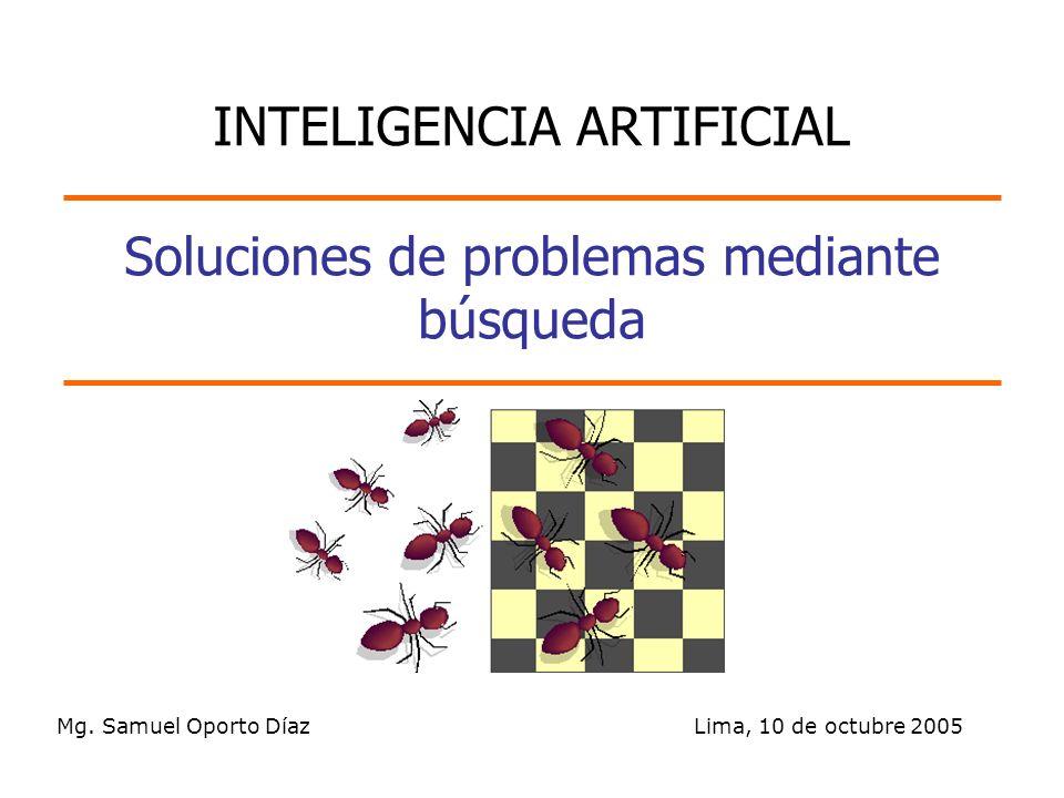 Soluciones de problemas mediante búsqueda