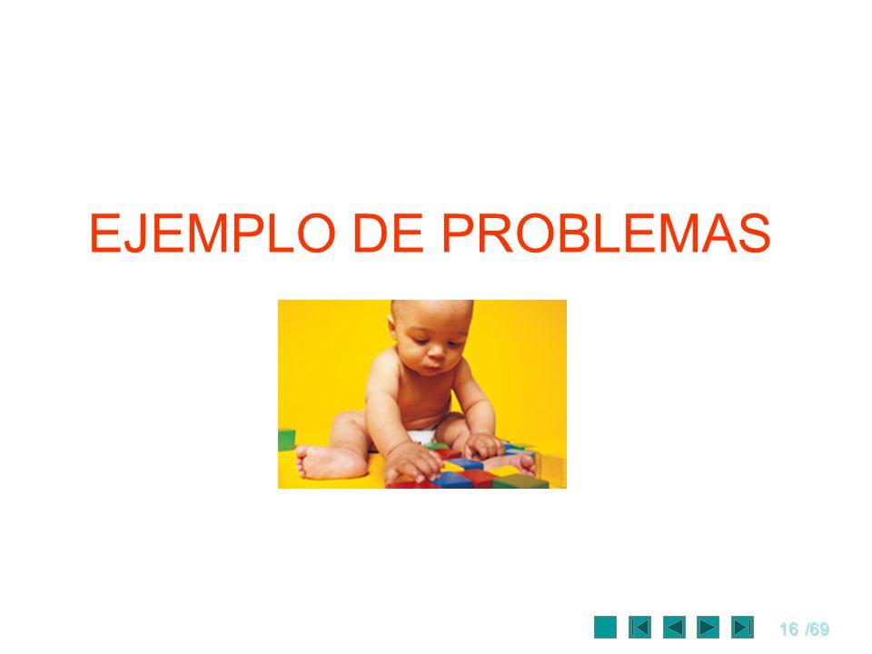 EJEMPLO DE PROBLEMAS