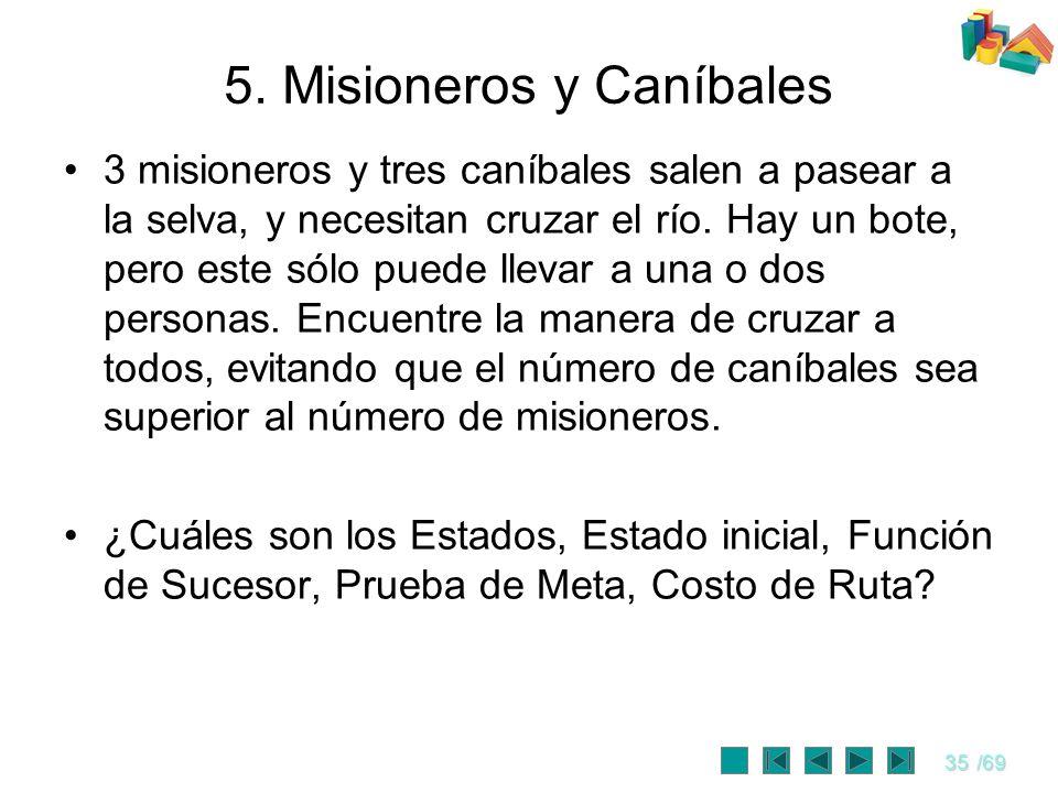 5. Misioneros y Caníbales