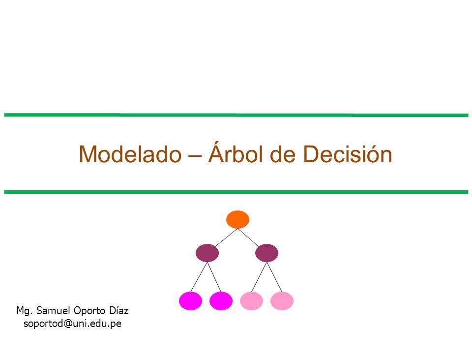 Modelado – Árbol de Decisión