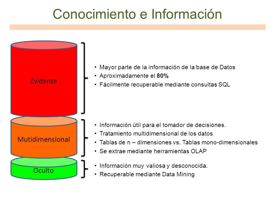 Conocimiento e Información