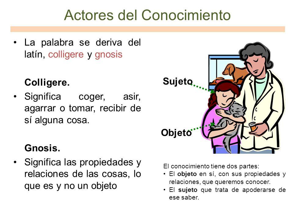 Actores del Conocimiento