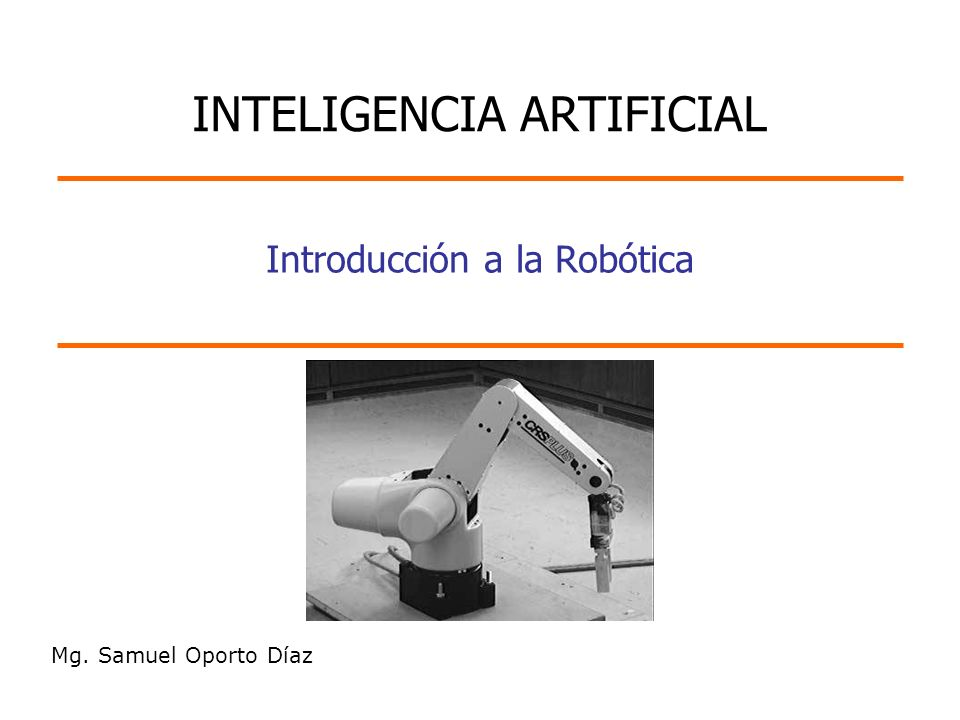 Introducción a la Robótica