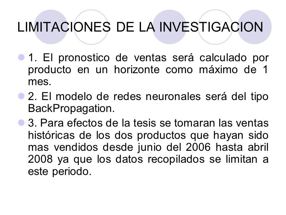 LIMITACIONES DE LA INVESTIGACION