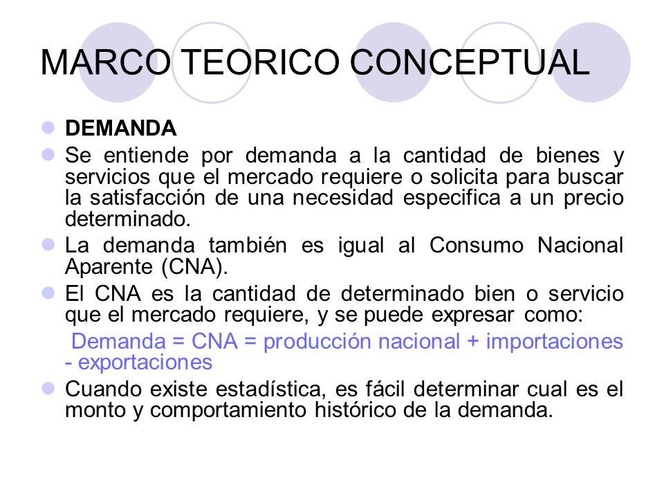 MARCO TEORICO CONCEPTUAL