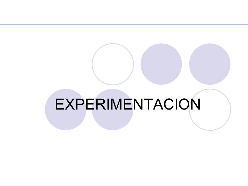 EXPERIMENTACION