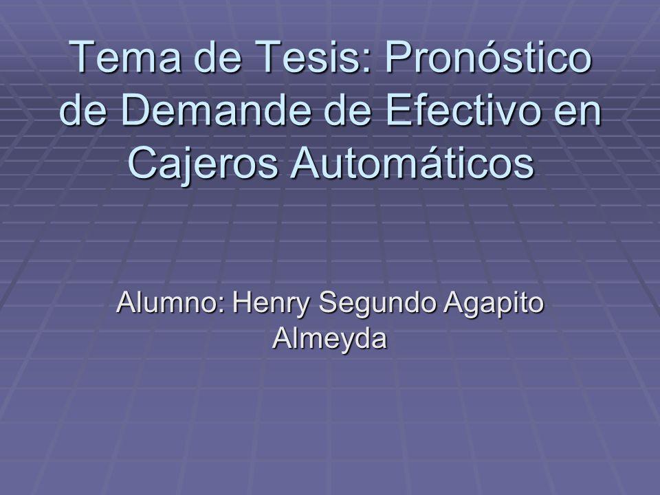 Alumno: Henry Segundo Agapito Almeyda