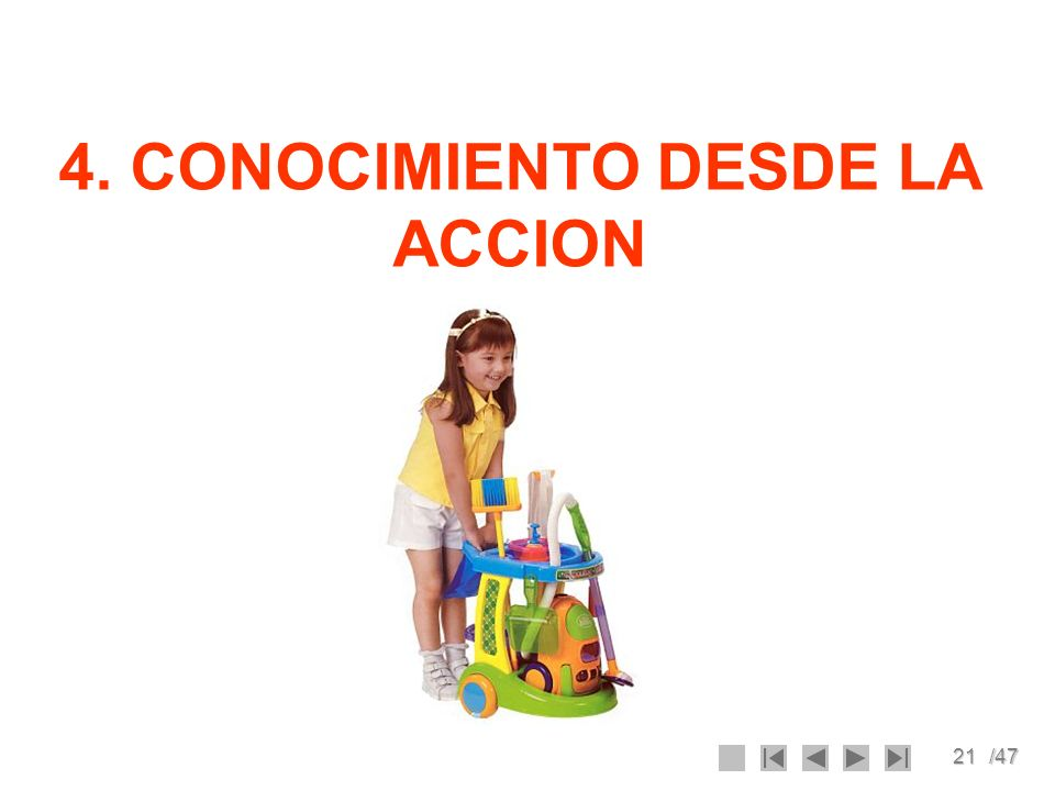 4. CONOCIMIENTO DESDE LA ACCION