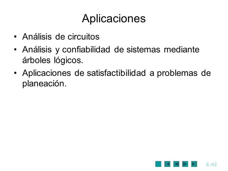 Aplicaciones Análisis de circuitos