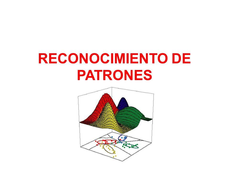 RECONOCIMIENTO DE PATRONES