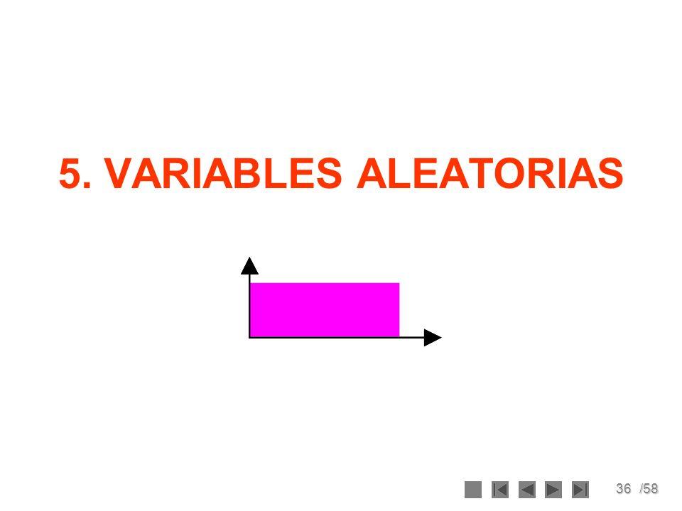 5. VARIABLES ALEATORIAS