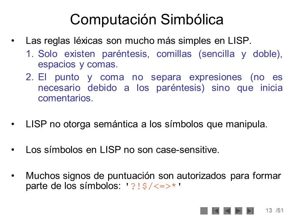 Computación Simbólica