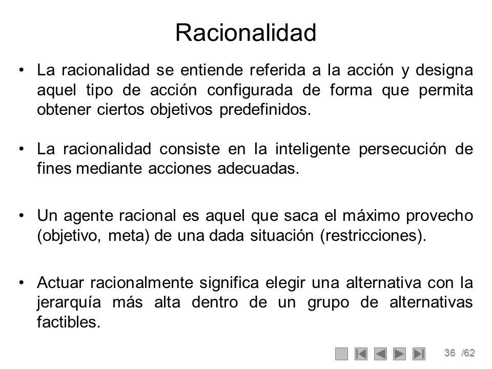 Racionalidad