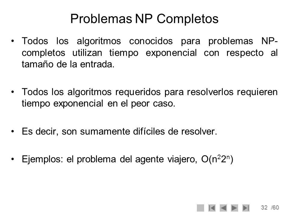 Problemas NP Completos