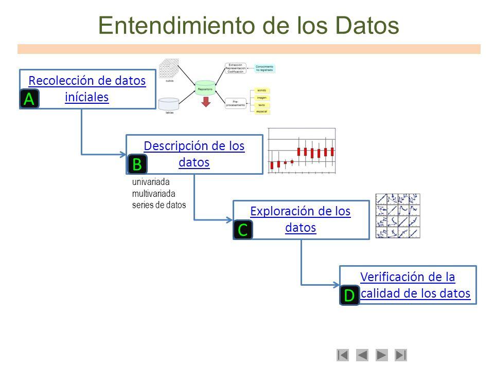 Entendimiento de los Datos