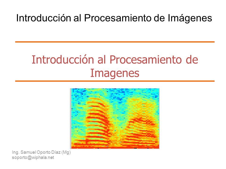 Introducción al Procesamiento de Imagenes