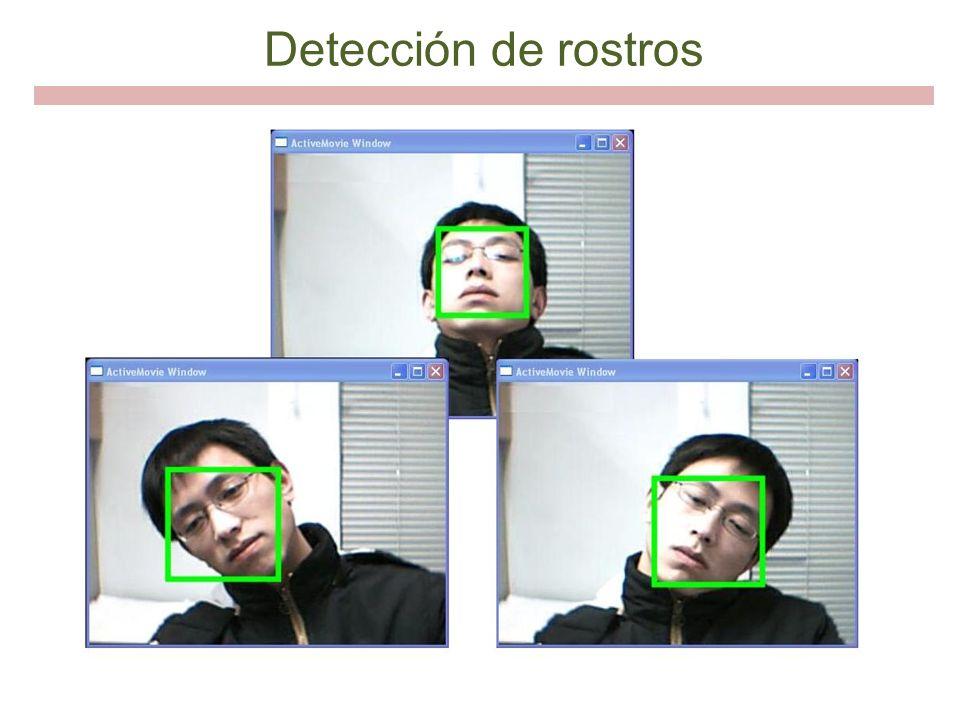 Detección de rostros
