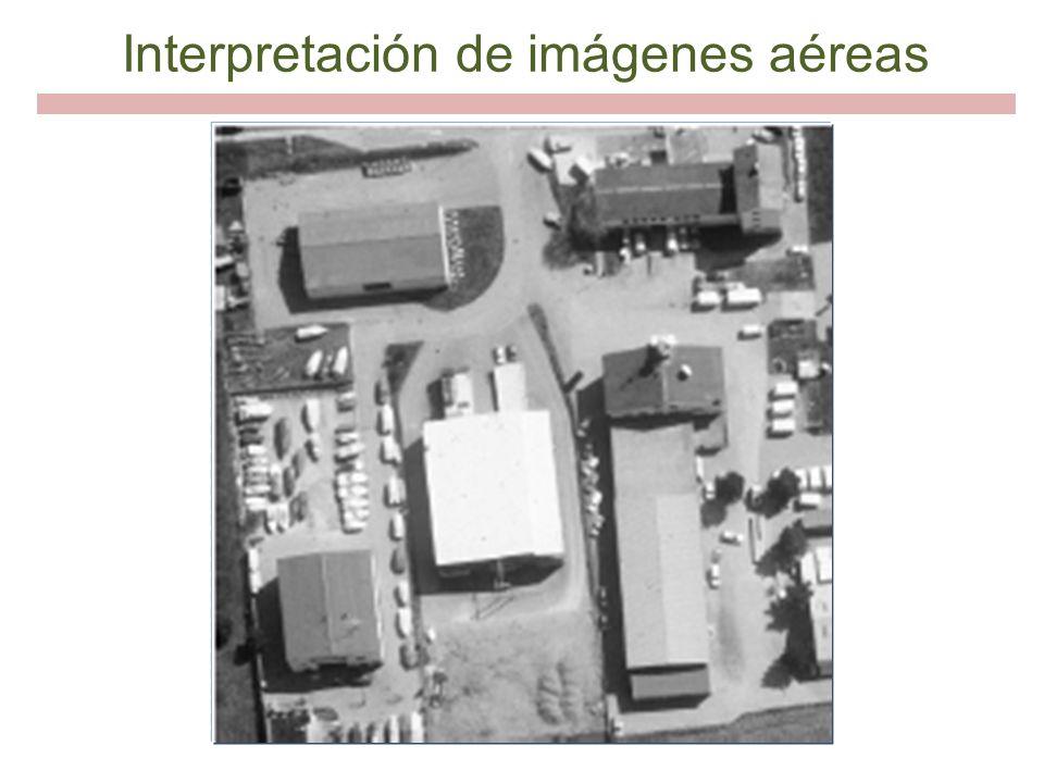 Interpretación de imágenes aéreas