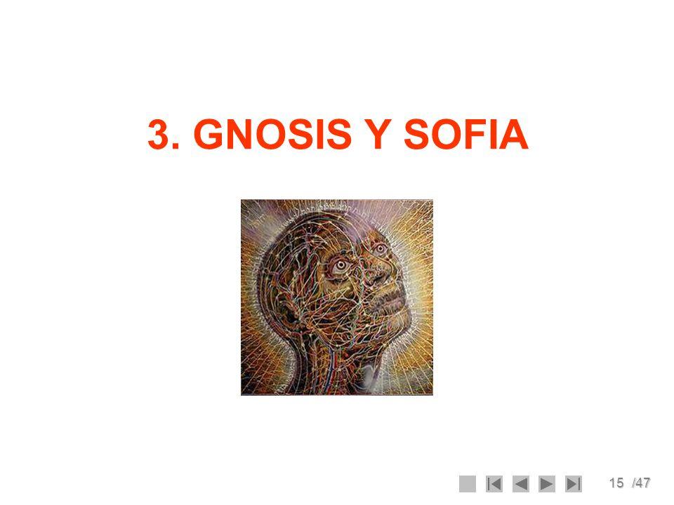 3. GNOSIS Y SOFIA
