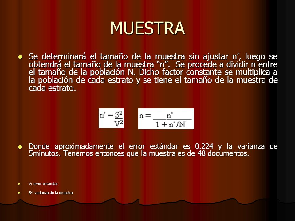 MUESTRA