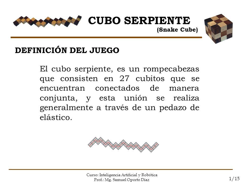 CUBO SERPIENTE DEFINICIÓN DEL JUEGO