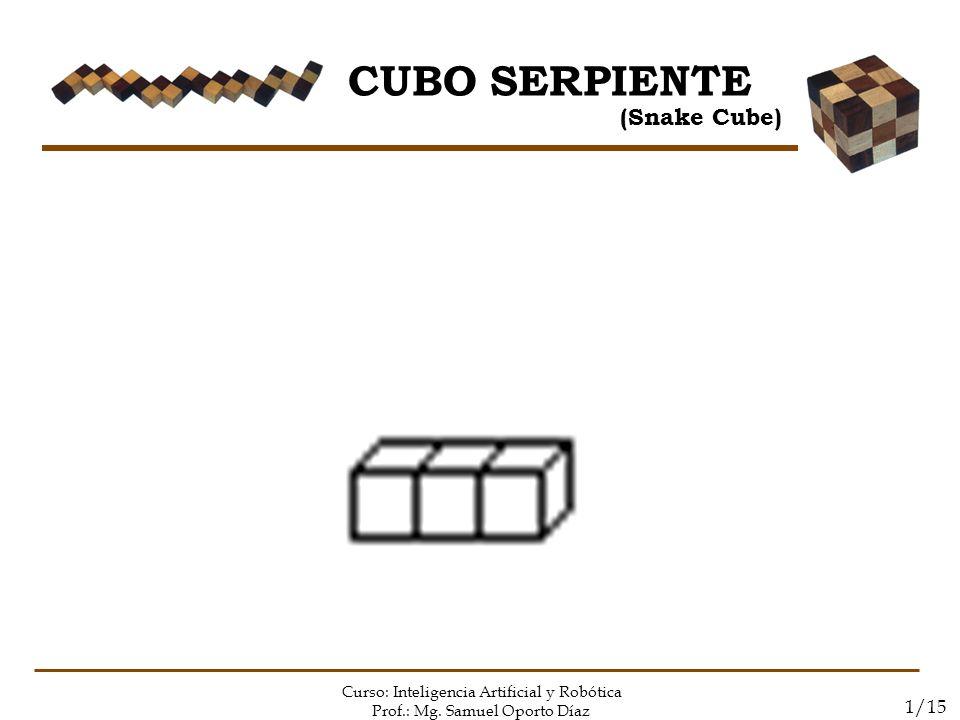 CUBO SERPIENTE (Snake Cube) 1/15