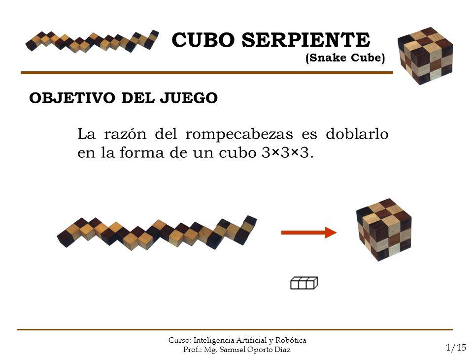 CUBO SERPIENTE OBJETIVO DEL JUEGO