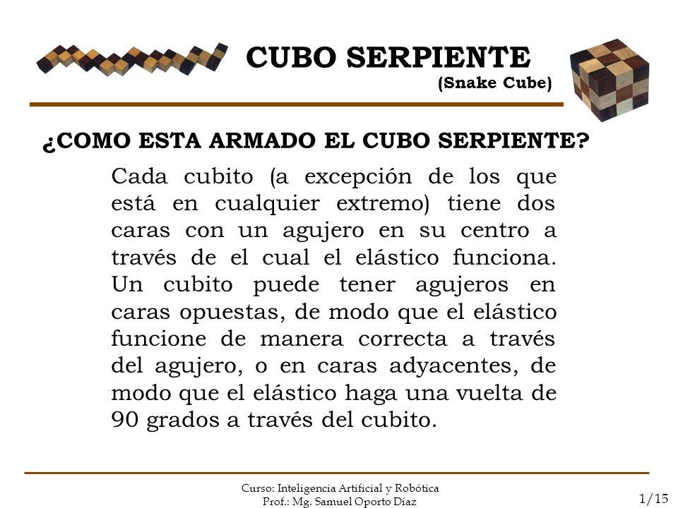 CUBO SERPIENTE ¿COMO ESTA ARMADO EL CUBO SERPIENTE