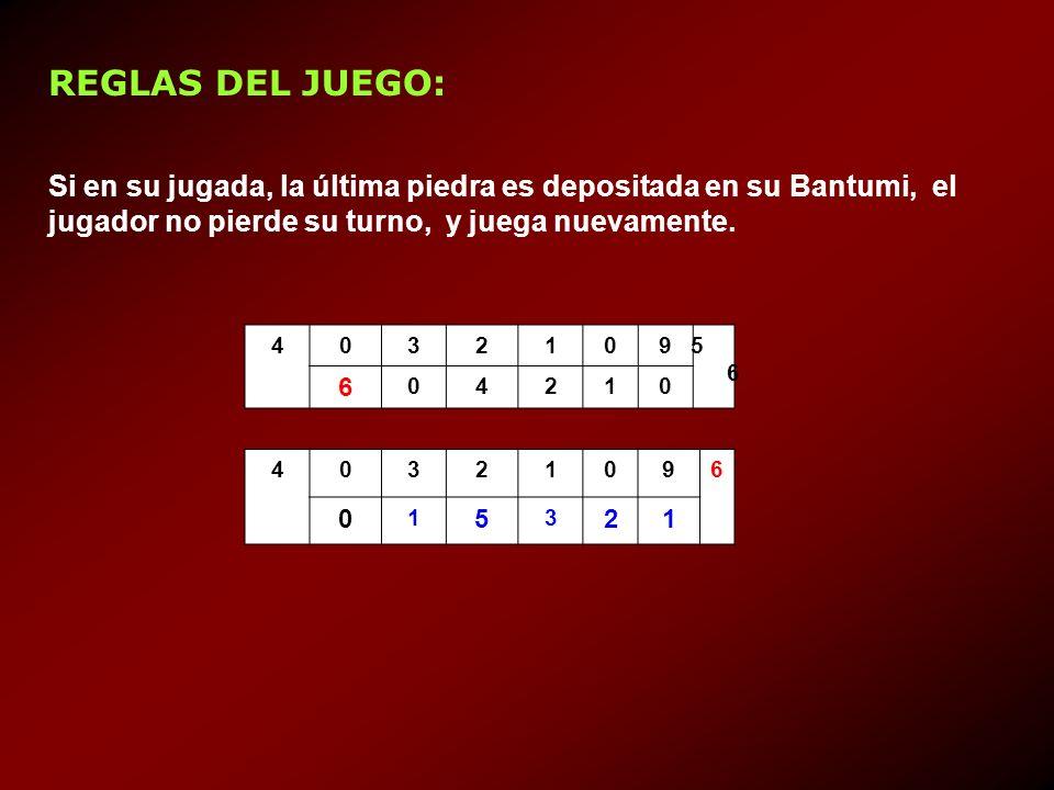 REGLAS DEL JUEGO: