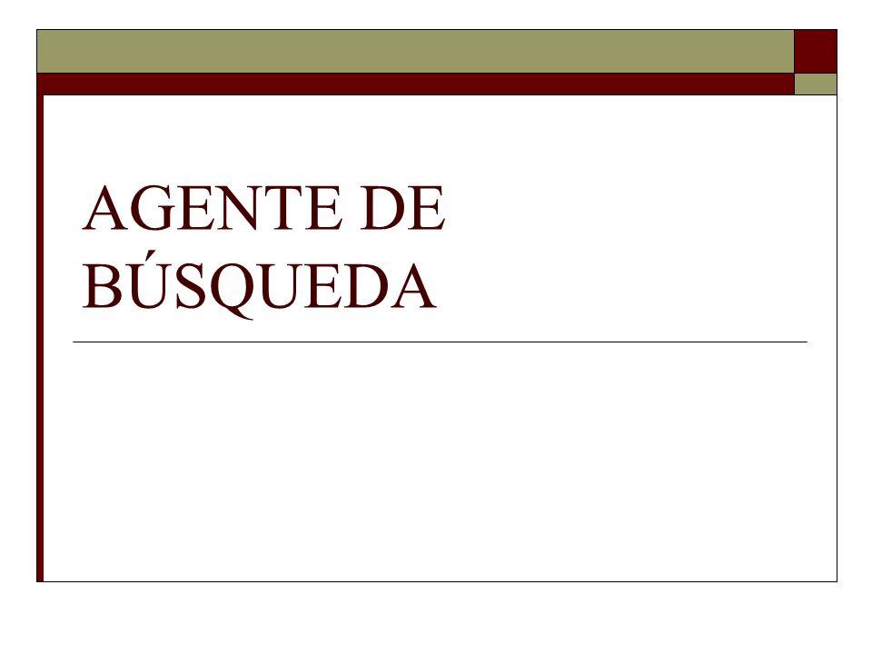 AGENTE DE BÚSQUEDA