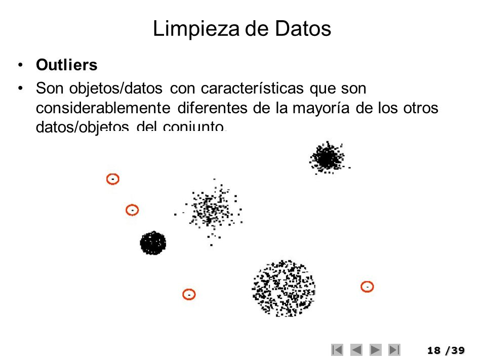 Limpieza de Datos Outliers