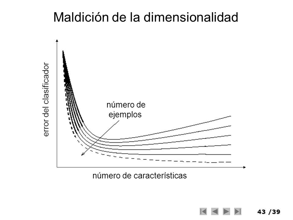 Maldición de la dimensionalidad
