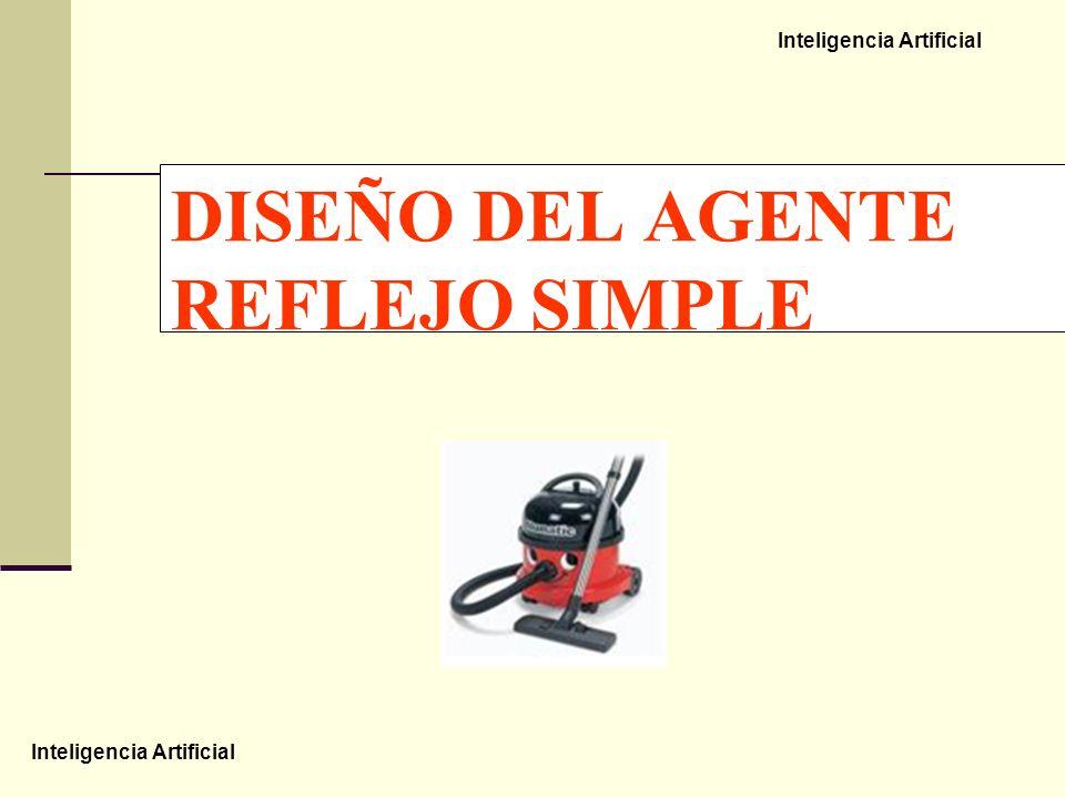 DISEÑO DEL AGENTE REFLEJO SIMPLE
