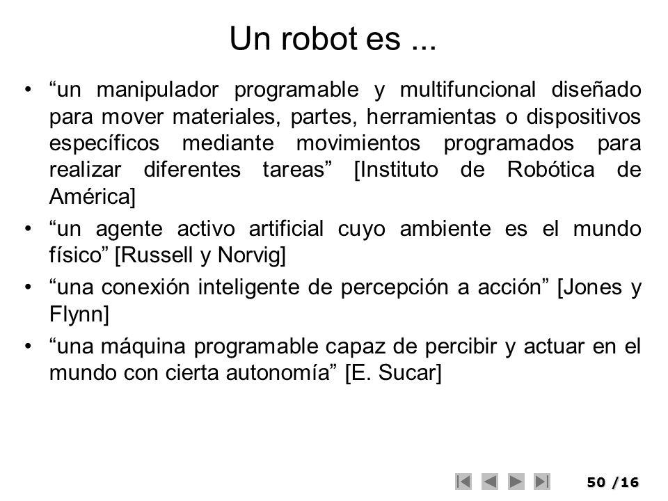 Un robot es ...