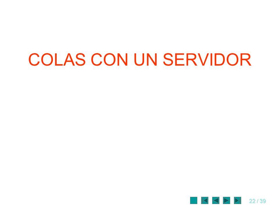 COLAS CON UN SERVIDOR