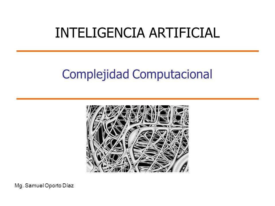 Complejidad Computacional