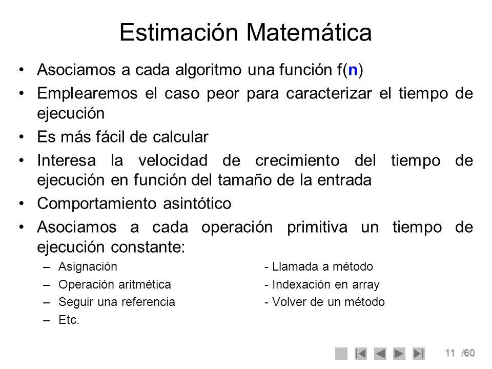 Estimación Matemática