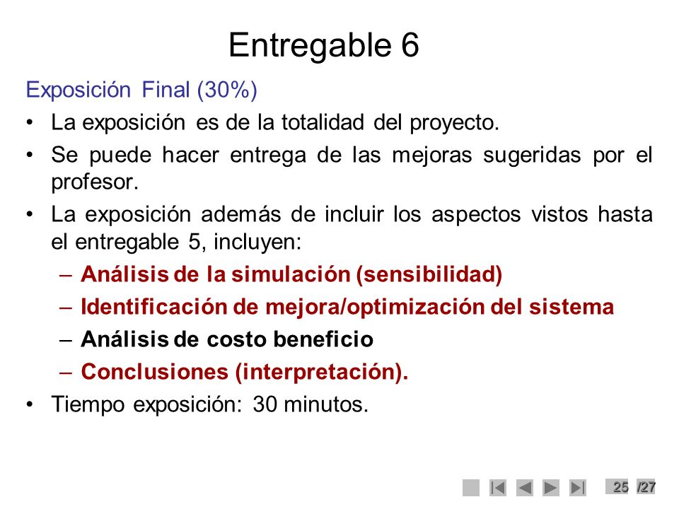 Entregable 6 Exposición Final (30%)
