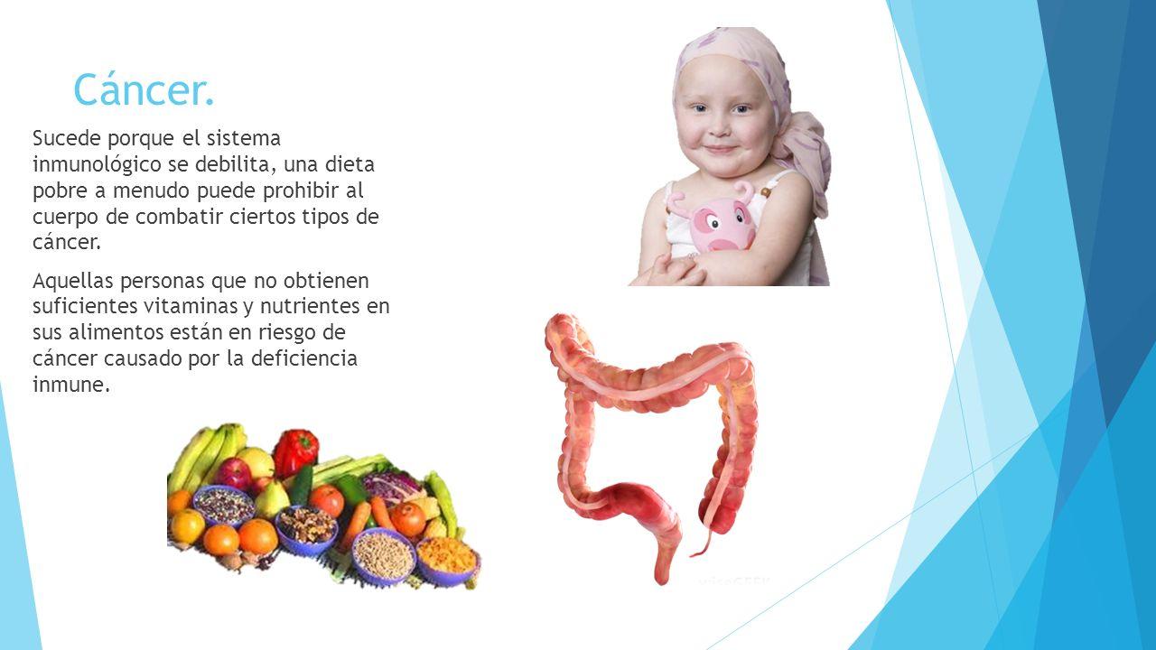 Enfermedades causadas por mala alimentaci n ppt video online descargar - Alimentos que evitan el cancer ...