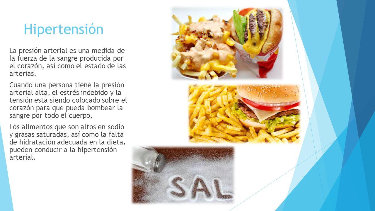 Enfermedades causadas por mala alimentaci n ppt video online descargar - Alimentos para la hipertension alta ...