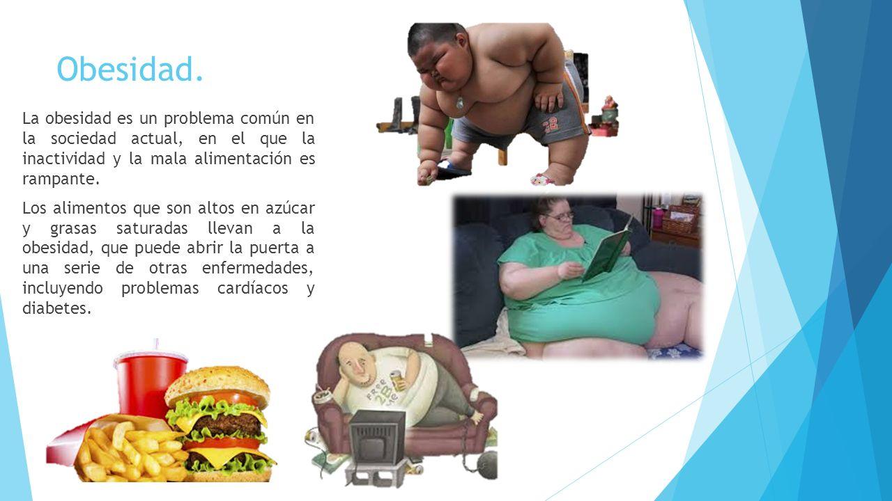 Enfermedades causadas por mala alimentación - ppt video