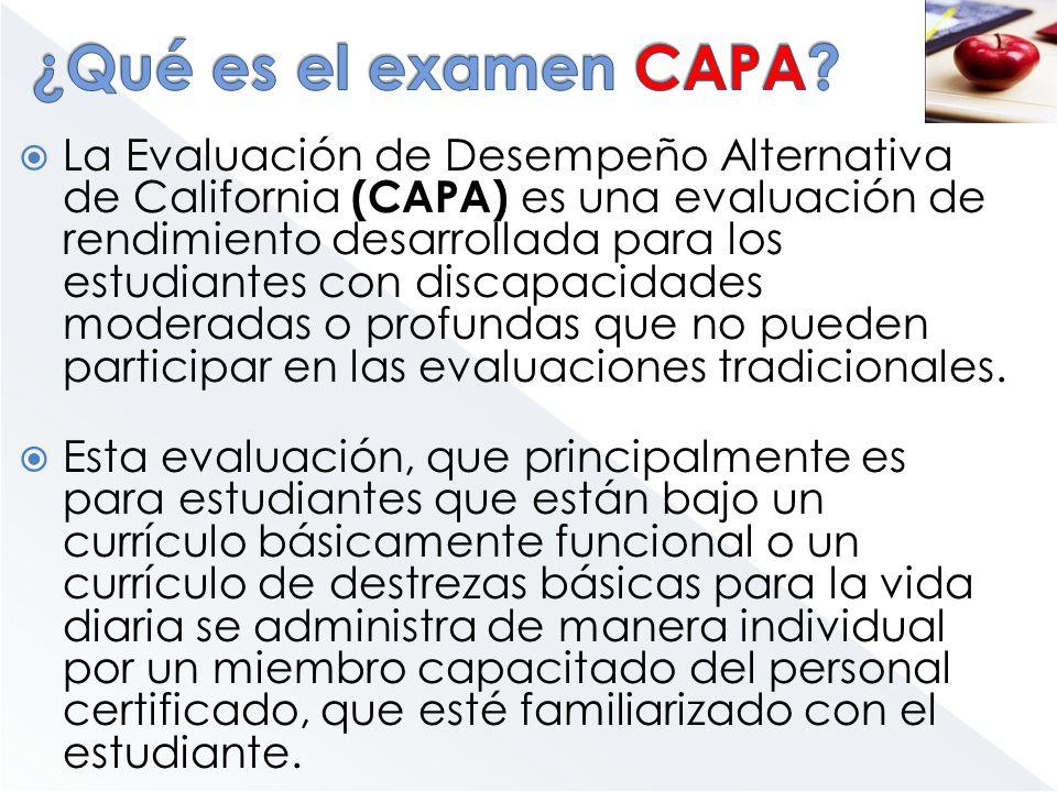 ¿Qué es el examen CAPA