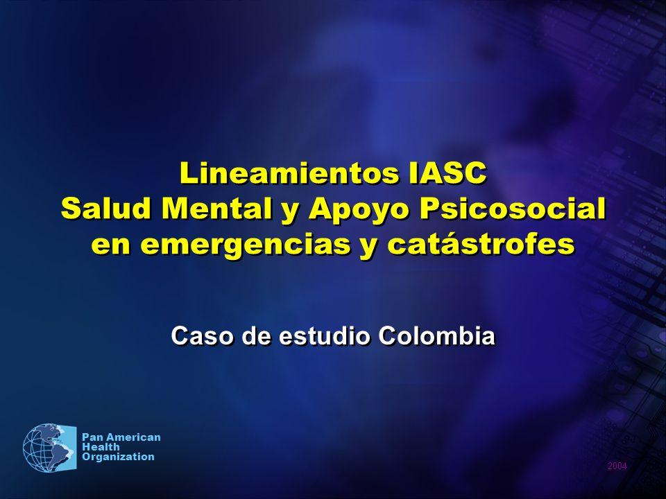 Caso de estudio Colombia