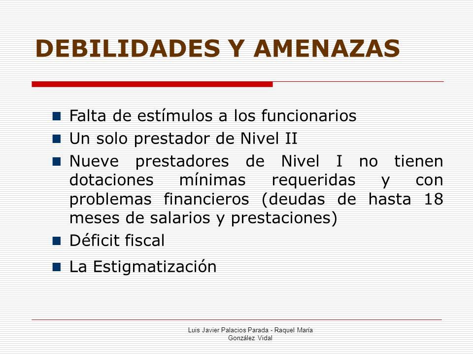 DEBILIDADES Y AMENAZAS