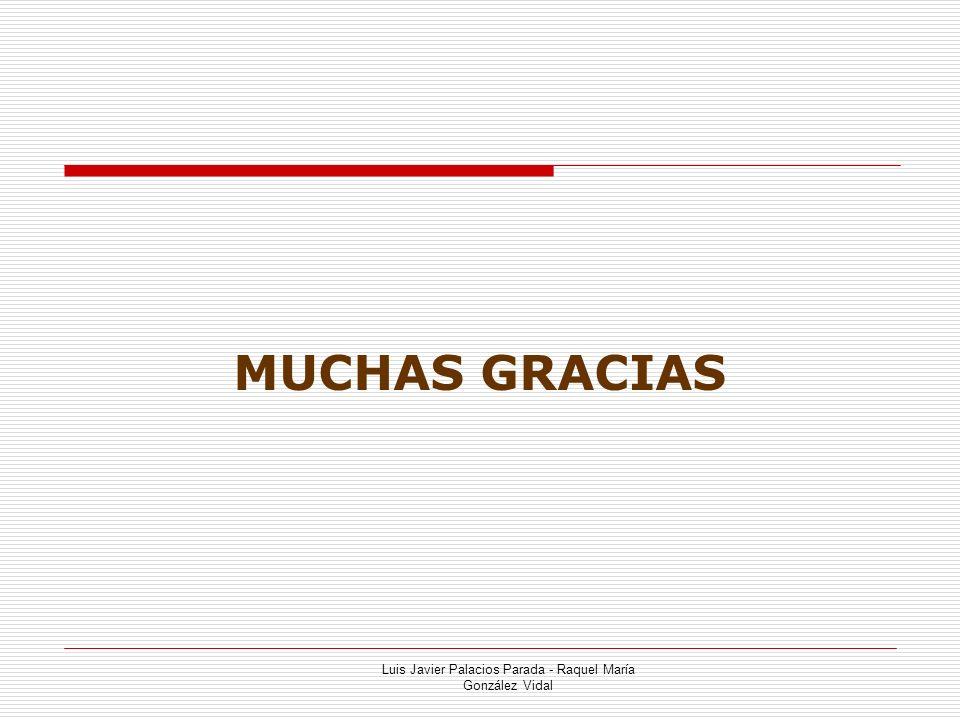 Luis Javier Palacios Parada - Raquel María González Vidal