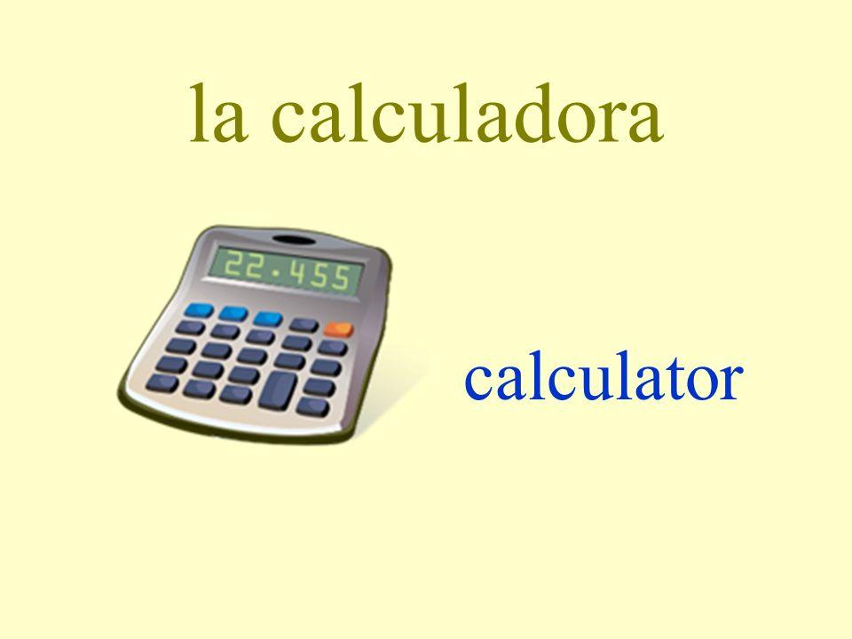 la calculadora calculator