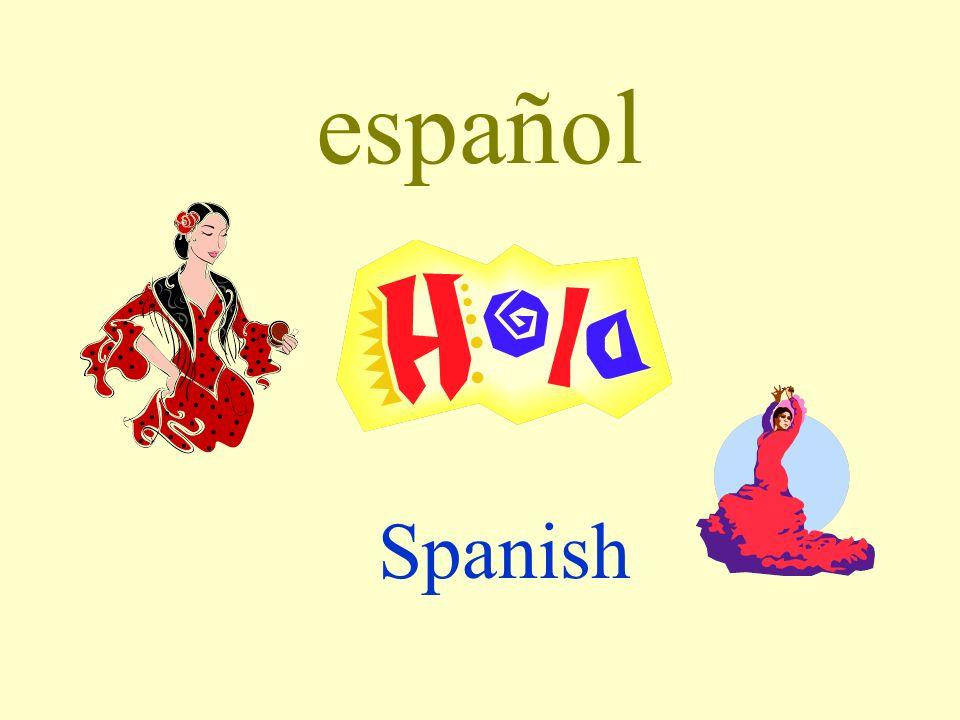 español Spanish