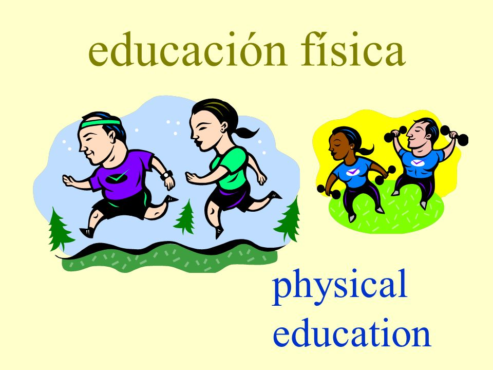educación física physical education