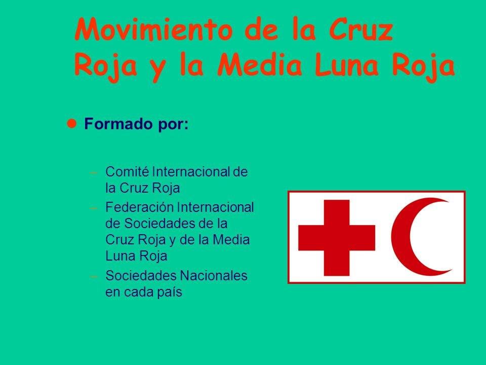 Movimiento de la Cruz Roja y la Media Luna Roja