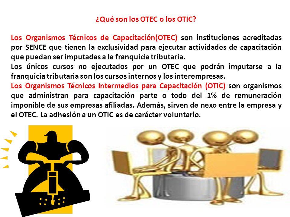 ¿Qué son los OTEC o los OTIC